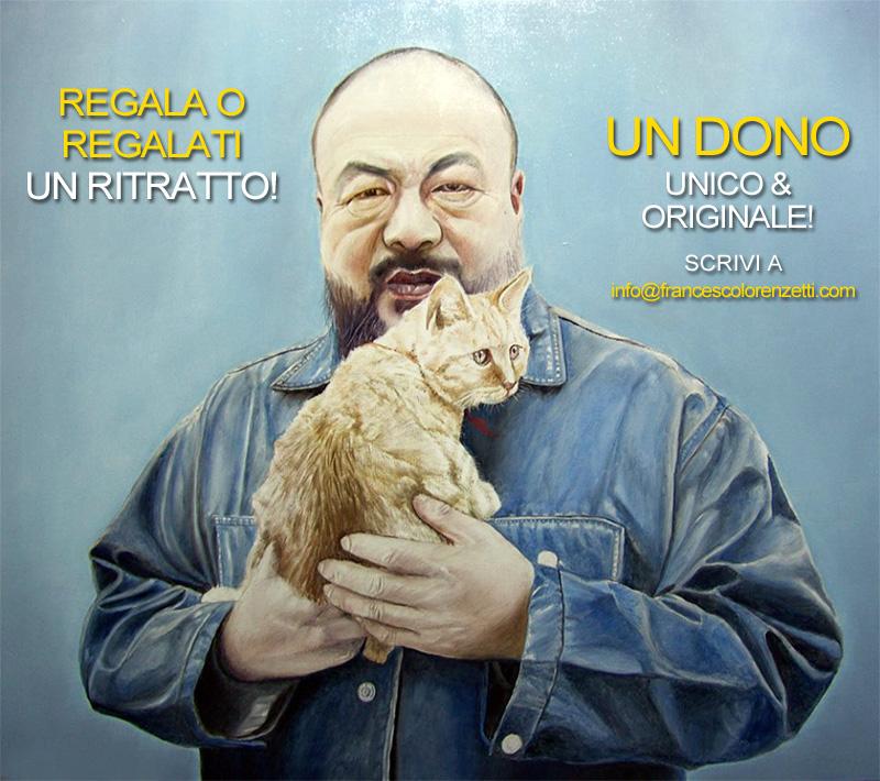 ritratto_olio_Ai Weiwei