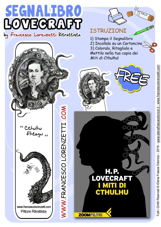 segnalibro_bookmark_printable_lovecraft_francesco_lorenzetti_ritrattista